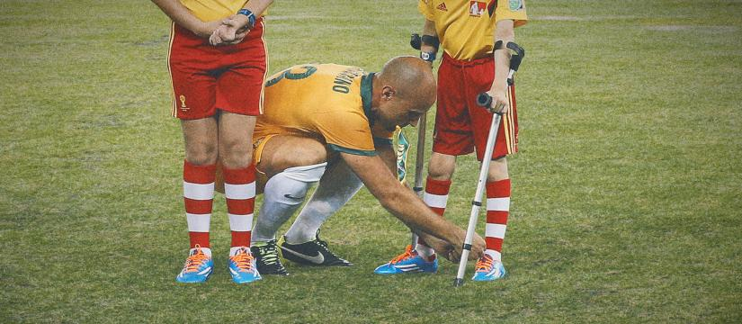 Mark Bresciano at the 2014 FIFA World Cup
