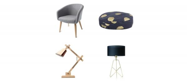 Pictures of chairs and lamps