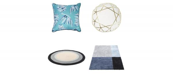 Pictures of cushions and rugs